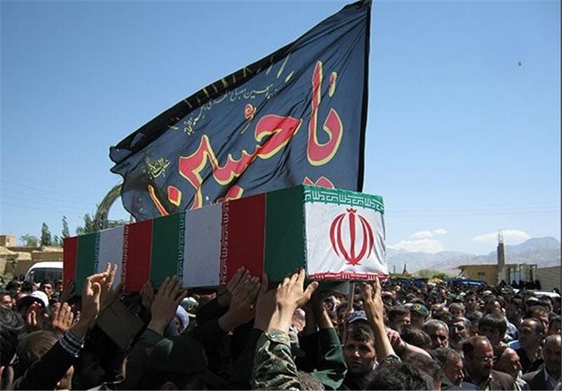 پیکر مطهر 6 شهید دوران دفاع مقدس در اصفهان تشییع شد