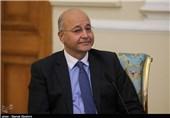 سفر رسمی برهم صالح به اردن
