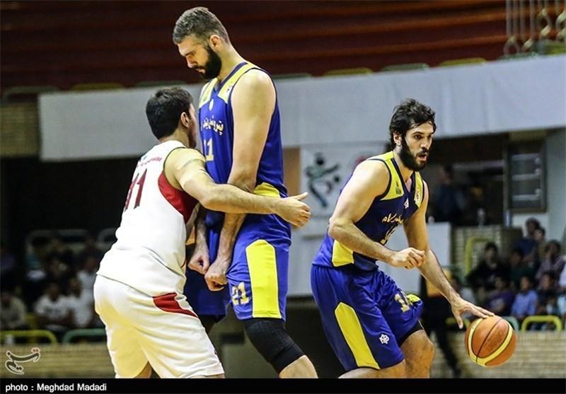 مهرام به فینال لیگ بسکتبال صعود کرد