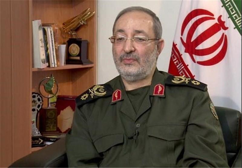 سردار جزایری معاون ستادکل نیروهای مسلح