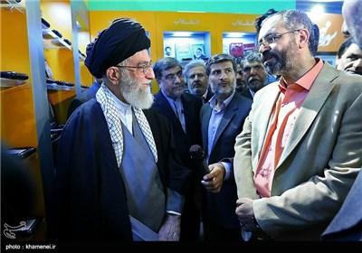 Supreme Leader Visits Tehran International Book Fair
