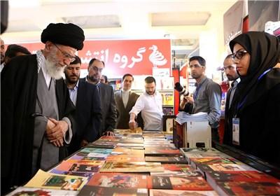 بازدید رهبر انقلاب از نمایشگاه کتاب