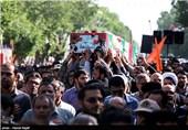 پیکر مطهر دو شهید گمنام در شهرک شهید چمران وزارت دفاع به خاک سپرده شد