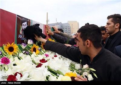 تشییع پیکر محمد دباغچی شهید دوران دفاع مقدس