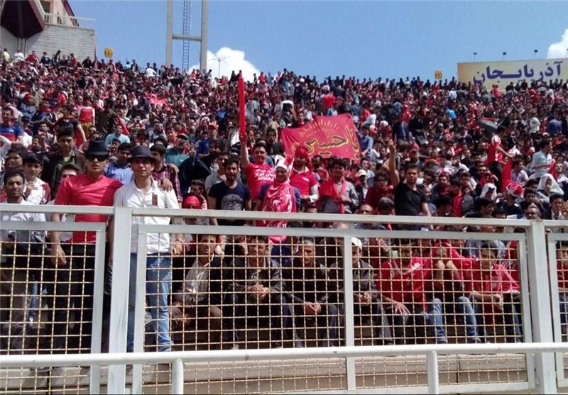 جشن 100 هزار نفری و تشویق بوندسلیگایی تراکتوریها