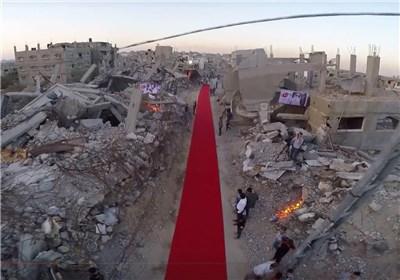 فرش قرمز جشنواره غزه