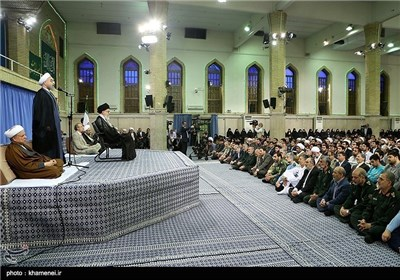 Iranian Officials, Foreign Diplomats Meet Supreme Leader in Tehran