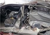 تصادف اتوبان قم- تهران 4 کشته و یک مجروح بر جای گذاشت