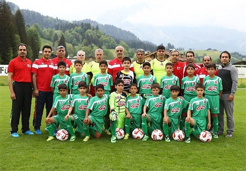 Iran's Kia Football Academy Comes 2nd in Cordial Cup