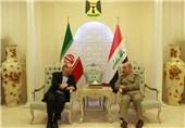 سردار دهقان: همکاریهای دفاعی ایران و عراق اجتنابناپذیر است