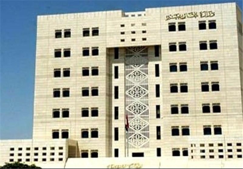 دمشق تدعو مجلس الامن الى اتخاذ موقف حازم لوضع حد لاعتداءت الاحتلال الاسرائیلی