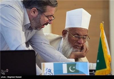 لجنة حكام الدورة الـ ۳۲ للمسابقات الدولية للقرآن الكريم في العاصمة طهران