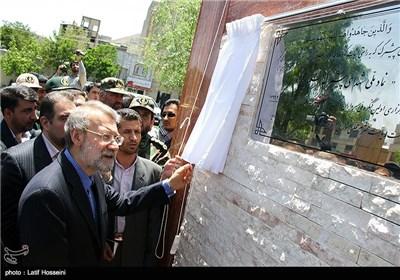 لاريجاني في مؤتمر تخليد ذكري شهداء البيشمركة الكرد المسلمين
