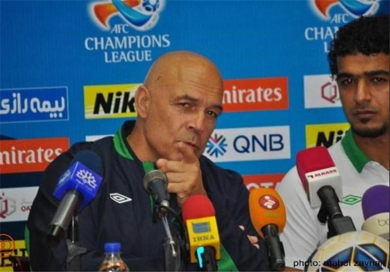 Al Ahli Coach Gross Rues Missed Chances against Iran's Naft