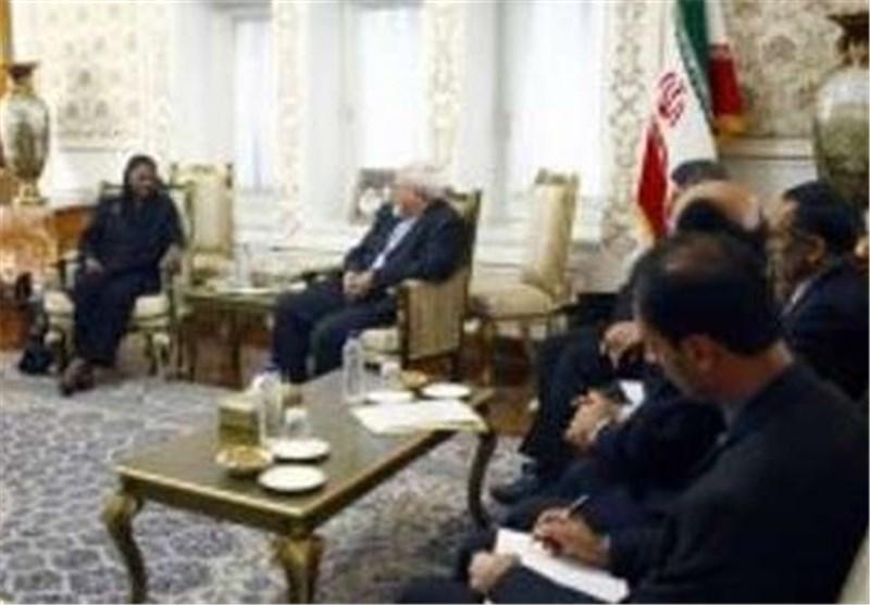 مساعدة أمین عام الامم المتحدة تصل طهران وتلتقی ظریف