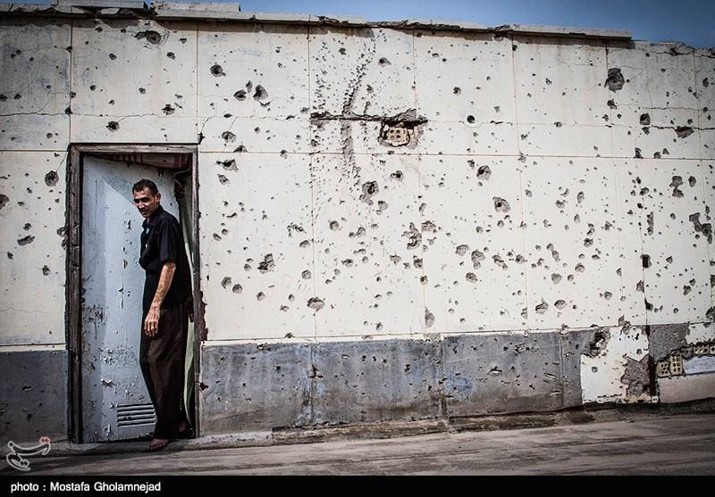 حفظ آثار و یادمان برجای مانده از تجاوز و ظلم ارتش عراق بر مردم و کودکان مظلوم خرمشهر در 8 سال دفاع مقدس توسط مردم خونین شهر