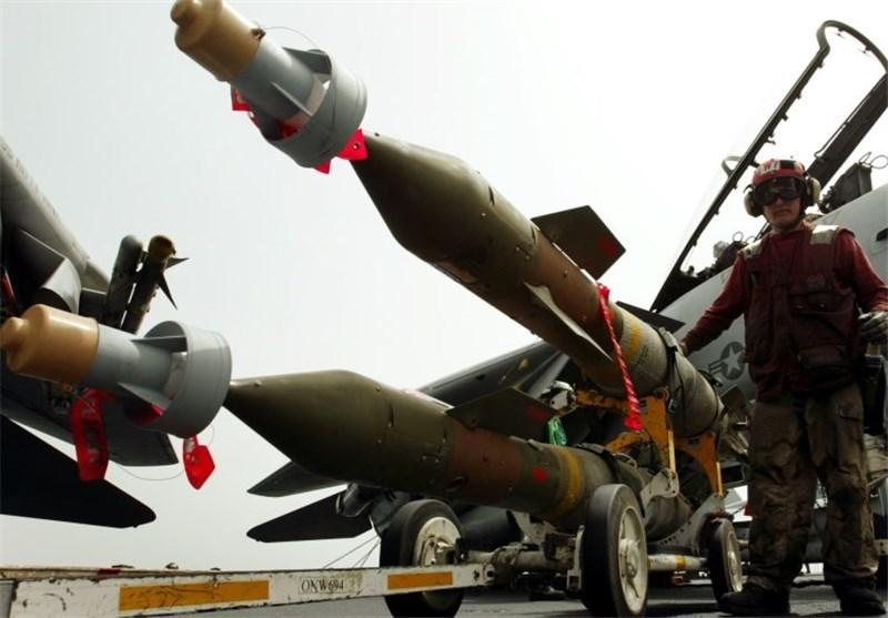 بمب تسلیحات آمریکا اسرائیل