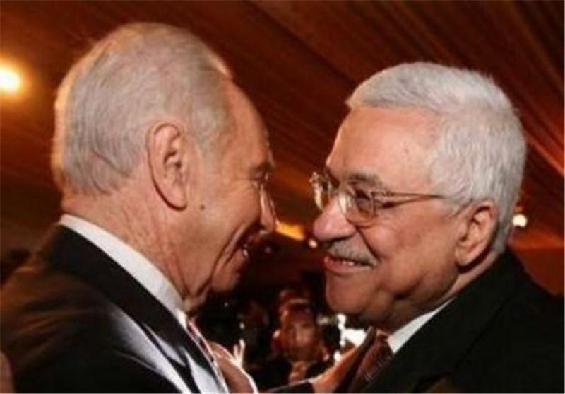 دیدار عباس و پرز