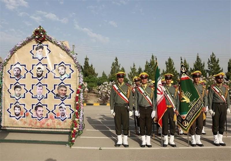 صبحگاه مشترک نیروهای مسلح انتظامی در شهرستان شهرضا برگزار شد