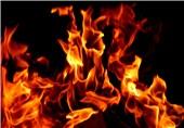 نجات 50 نفر از آتشسوزی در یک مجتمع 20 واحدی