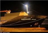 Iranian Ship Unloading Humanitarian Cargo in Djibouti