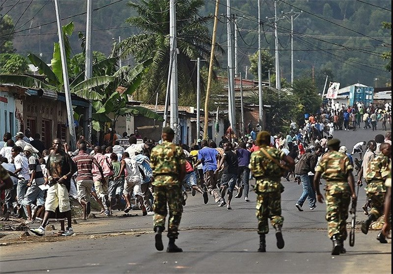 Burundi Condemns Opposition to President's Election Bid