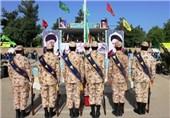 صبحگاه مشترک نیروهای انتظامی و نظامی در خراسان جنوبی برگزار شد