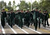 صبحگاه مشترک نیروهای مسلح - بوشهر