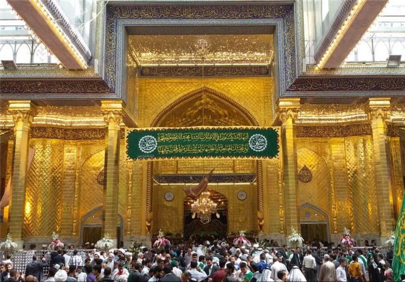 ایوان طلا حضرت عباس (ع)