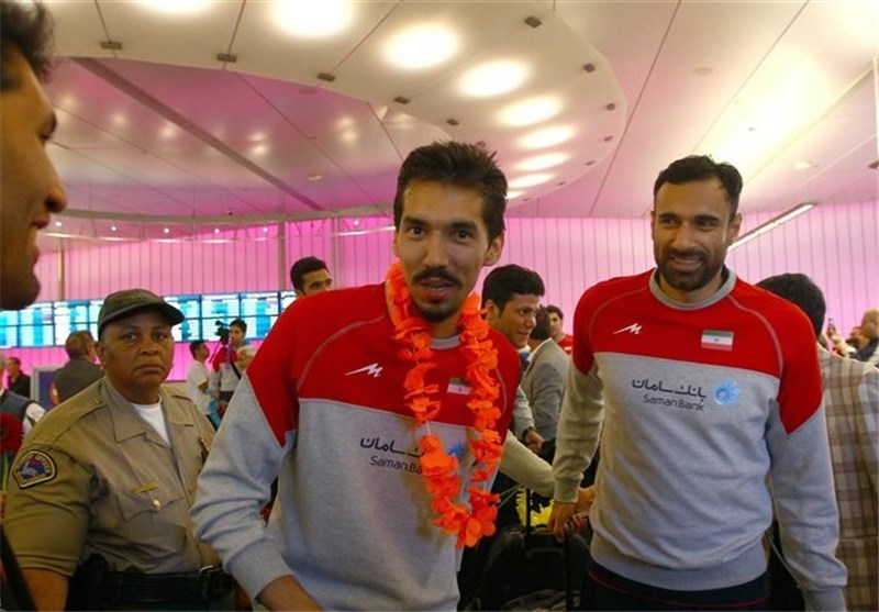 Iran Volleyball Team Arrives in US for FIVB World League