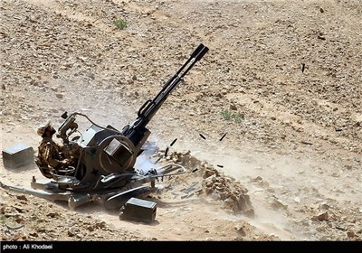 Iran's Army Staged Military Drill in Isfahan Province