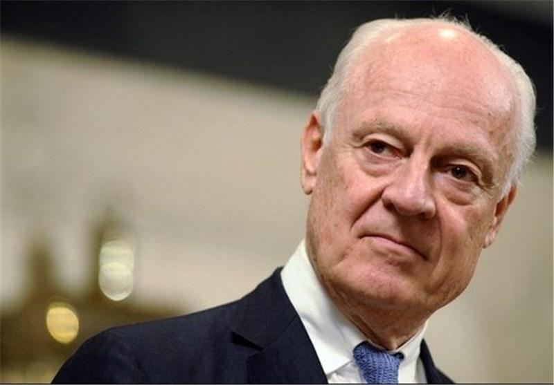 دی میستورا: فشل التوصل لاتفاق سلام فی سوریا سیزید من عدد اللاجئین المتوجهین الى اوروبا