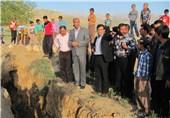 رانش زمین سبب قطع گاز در منطقه گردشگری باراجین شد
