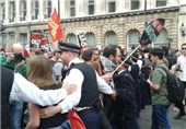 تظاهرات انگلیس