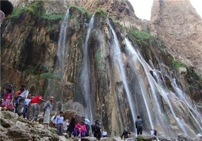 139403070846057925383183 تابستان خنک در آبشار بارانی مارگون + تصاویر