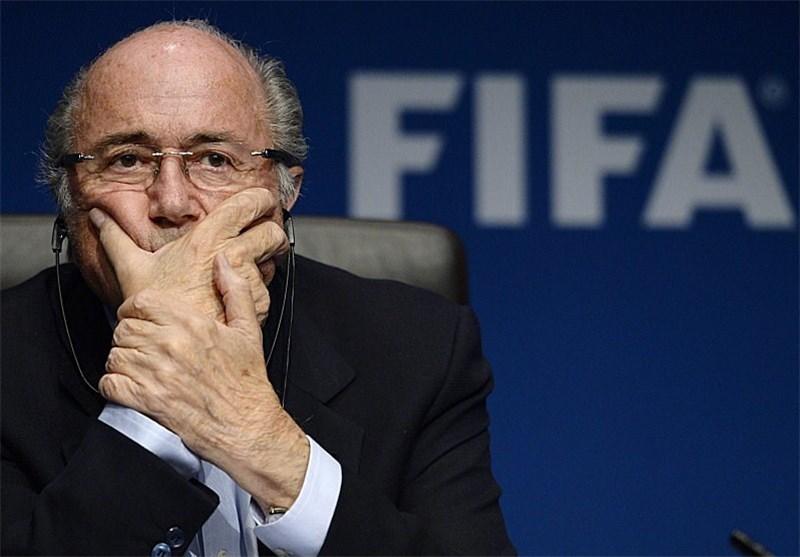 بلاتر: از ریاست فیفا استعفا نکردهام!