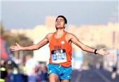 دونده ماراتن ایران نایب قهرمان شد اما سهمیه نگرفت