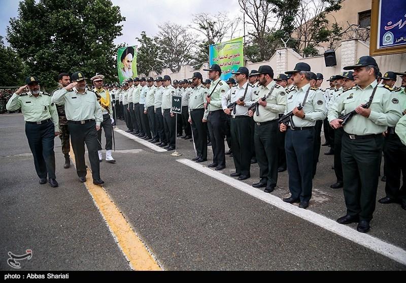 صبحگاه مشترک نیروهای مسلح در چهارمحال و بختیاری برگزار شد