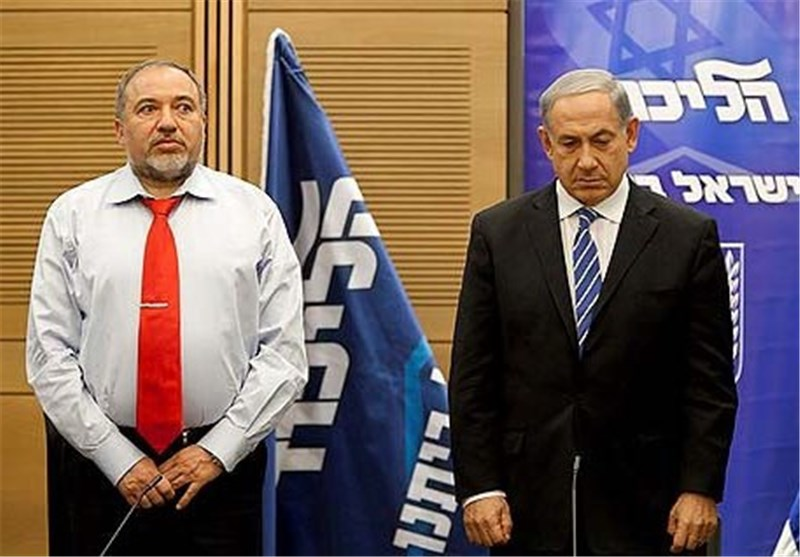 رژیم صهیونیستی|توافق لیبرمن با آبی-سفید ؛ یک گام به جلو در پروژه عبور از نتانیاهو