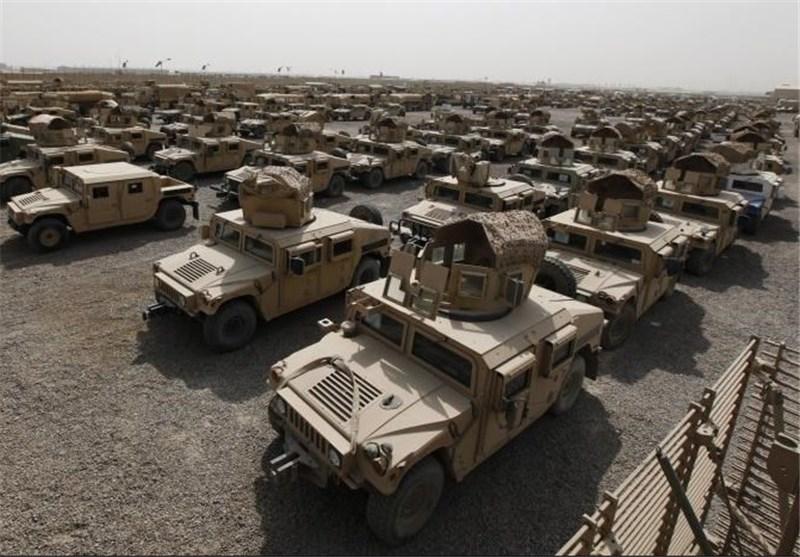 تحویل بیش از 6500 خودروی زرهی به افغانستان
