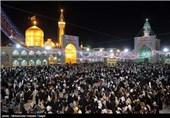 شب نیمه شعبان در مشهد مقدس