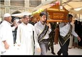 تشییع شهدای مدافع حرم در نجف و کوفه: «برادر زینب(س)» را میآورند
