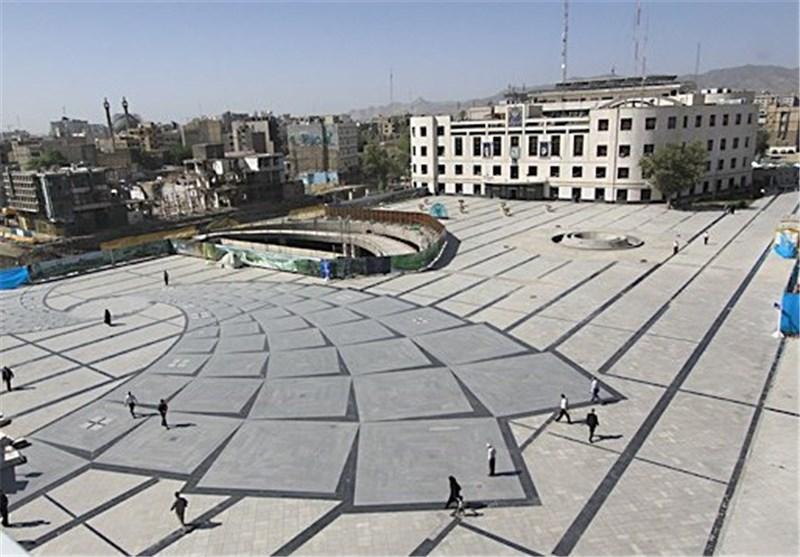 هندسه شمالی میدان شهدای مشهد از بلاتکلیفی خارج شد