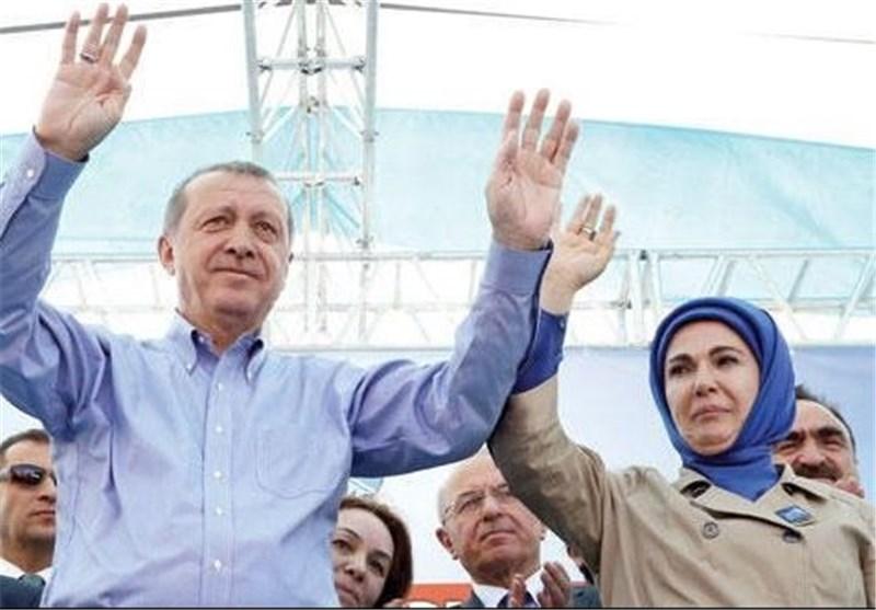 مجبور کردن کارکنان دولتی برای شرکت در تجمع سخنرانی «اردوغان» + تصاویر