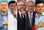 رهبران ترکیه پای صندوقهای رأی + عکس