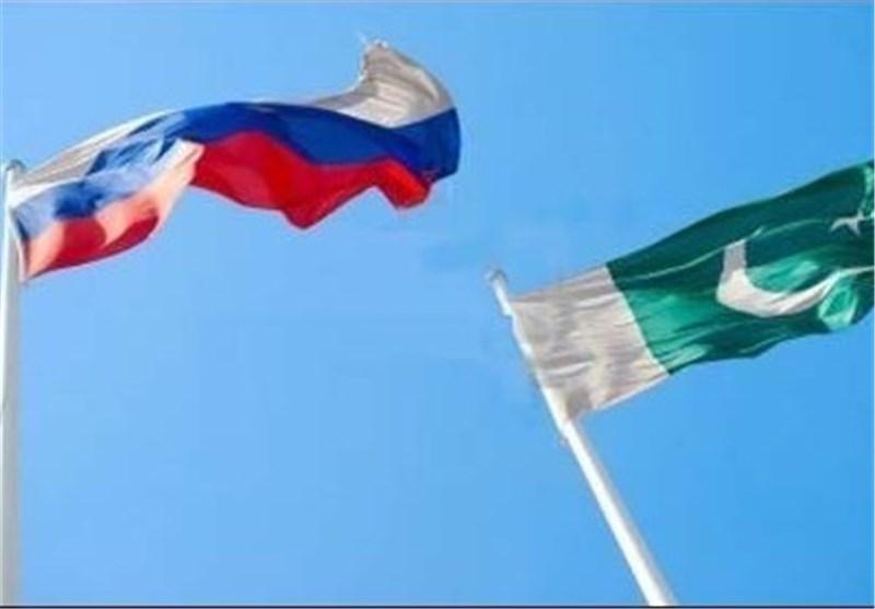 پرچم پاکستان و روسیه