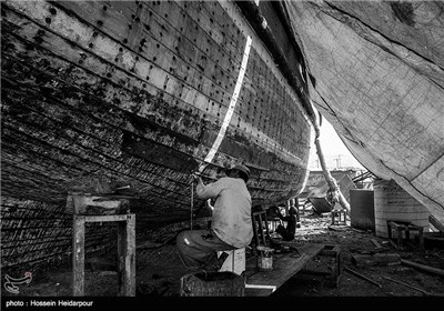 Dhow Building in Iran's Bushehr City