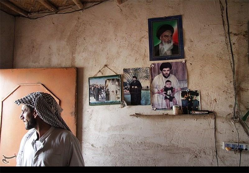 اینجا «ابوصخیر»؛ خمینی زنده است، در خانه کپرنشینان عراقی+ تصاویر