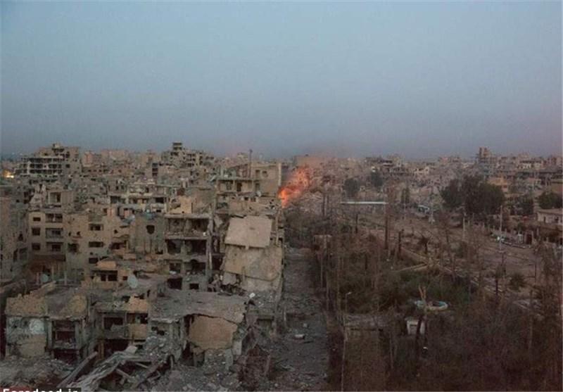 عین الفیجہ آزادی کے دھانے پر، دیر الزور دھماکوں سے گونج اٹھا