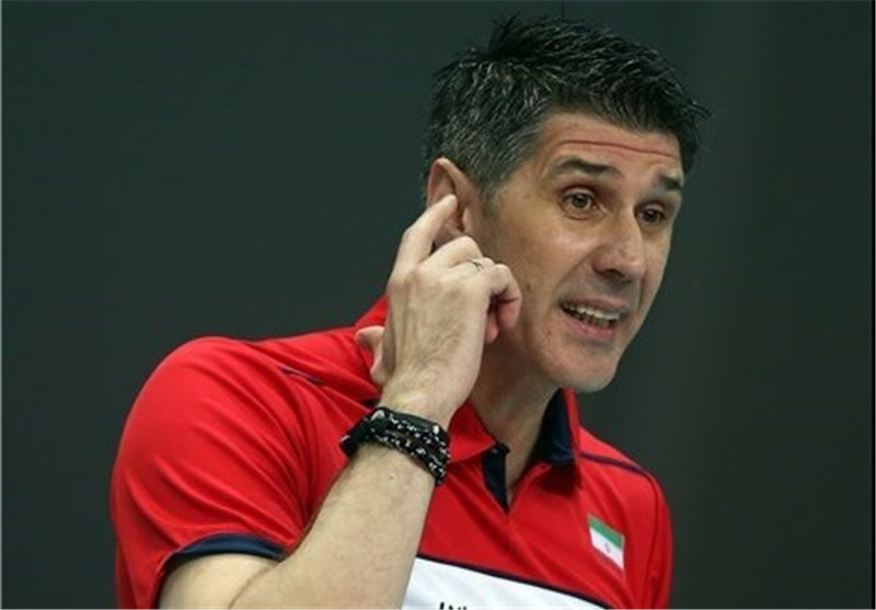 "Iran Coach Kovac Calls US ""World's Best Volleyball Team"""